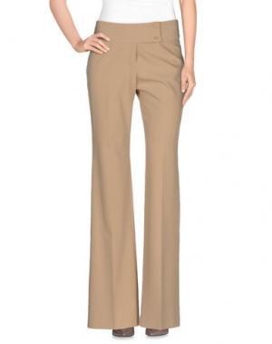 Повседневные брюки METRADAMO. Цвет: бежевый