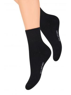 Носки спортивные Steven. Цвет: черный, серый