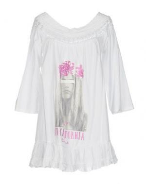 Блузка AU SOLEIL DE SAINT TROPEZ. Цвет: белый