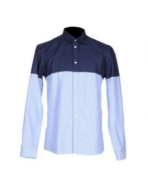 Pубашка SUIT. Цвет: небесно-голубой