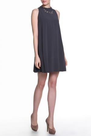 Платье Albino. Цвет: серый