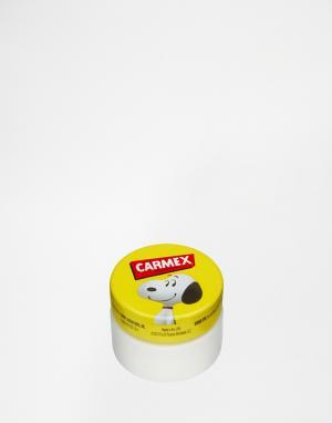 Carmex Бальзам для губ ограниченной серии в металлическом футляре. Цвет: snoopy