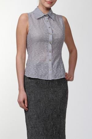 Блузка Roberto Bellini. Цвет: серый