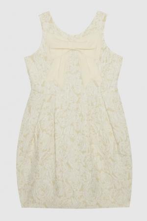 Платье Unim Mi Sol. Цвет: бежевый