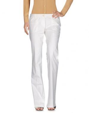 Повседневные брюки BUI de BARBARA. Цвет: белый