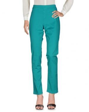 Повседневные брюки BARONI. Цвет: зеленый