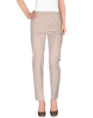 Повседневные брюки ROBERTA GUERCINI. Цвет: бежевый