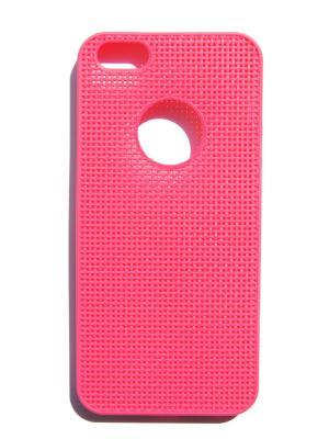 Чехол для iPhone 5/5s Lola. Цвет: малиновый