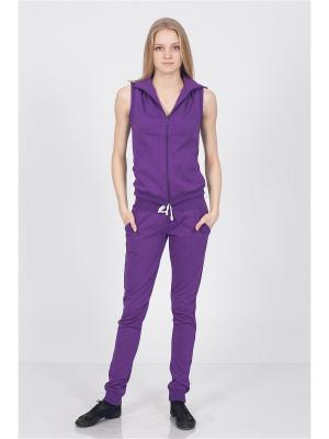 Спортивный костюм CROSS sport. Цвет: фиолетовый