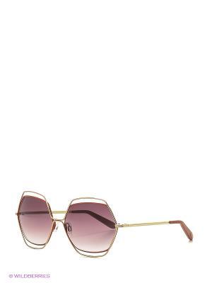Солнцезащитные очки MI 792S 01 Missoni. Цвет: оранжевый, золотистый