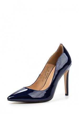 Туфли Provocante. Цвет: синий