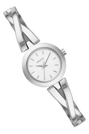 Наручные часы DKNY. Цвет: серебряный, стальной