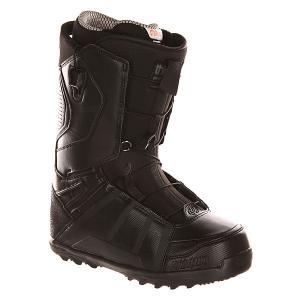 Ботинки для сноуборда  Z Lashed Ft True Black Thirty Two. Цвет: черный