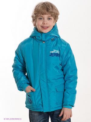 Куртка TOM and JERRY. Цвет: голубой