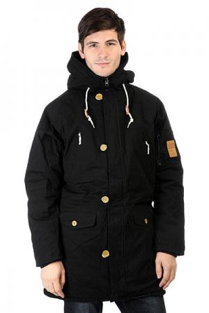 Куртка парка  Cold City Black TrueSpin. Цвет: черный