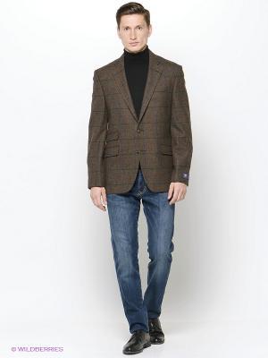 Пиджак DOUGLAS. Цвет: коричневый