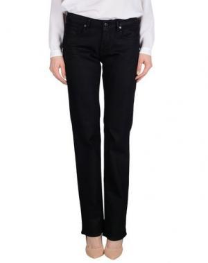Джинсовые брюки LE TEMPS DES CERISES. Цвет: черный