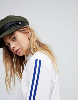 ASOS Шляпа цвета хаки. Цвет: зеленый