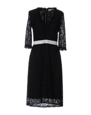 Платье до колена ALFONSO RAY. Цвет: черный