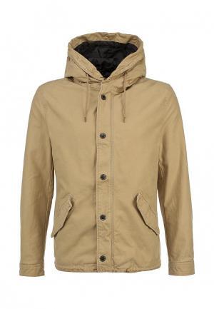 Куртка Only & Sons. Цвет: бежевый