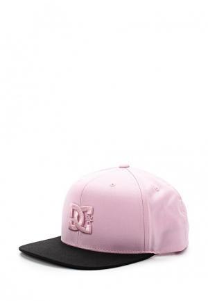 Бейсболка DC Shoes. Цвет: розовый