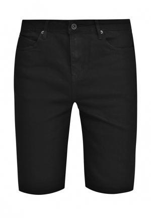 Шорты джинсовые Native Youth. Цвет: черный