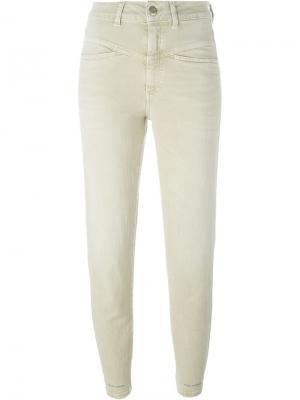 Укороченные джинсы Closed. Цвет: телесный