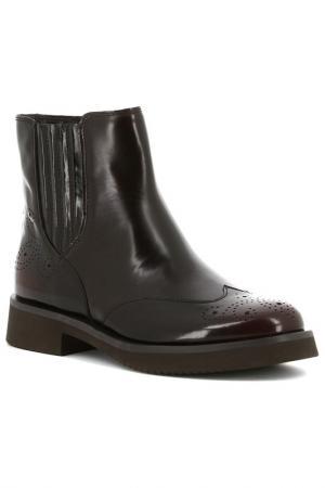 Ботинки Paolo Conte. Цвет: темно-коричневый