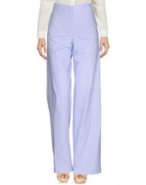 Повседневные брюки SCAGLIONE. Цвет: сиреневый