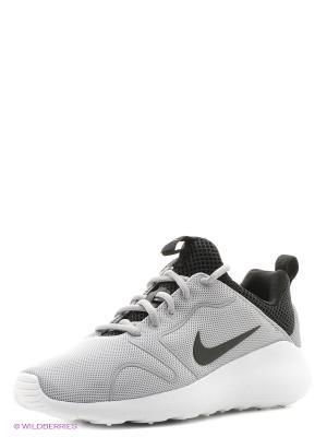 Кроссовки NIKE KAISHI 2.0. Цвет: серый, белый, черный