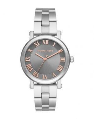 Наручные часы MICHAEL KORS. Цвет: серебристый