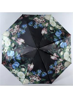 Зонт Trust. Цвет: черный, белый, голубой