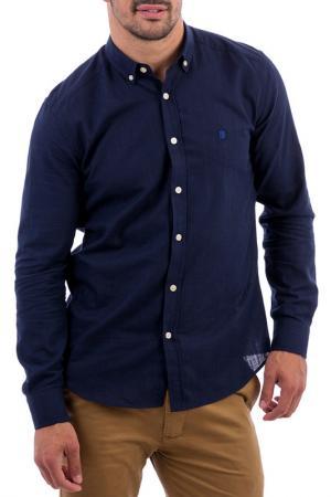 Рубашка POLO CLUB С.H.A.. Цвет: синий