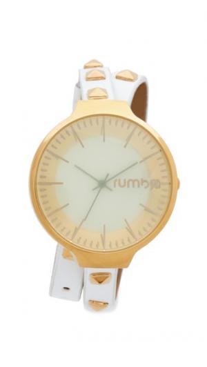 Часы Orchard Snow Patrol с заклепками и ремешком в два оборота RumbaTime