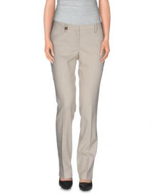 Повседневные брюки MET & FRIENDS. Цвет: слоновая кость