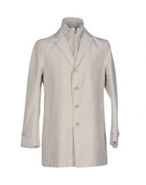Легкое пальто PAOLONI. Цвет: бежевый