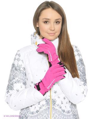 Перчатки Icepeak. Цвет: розовый