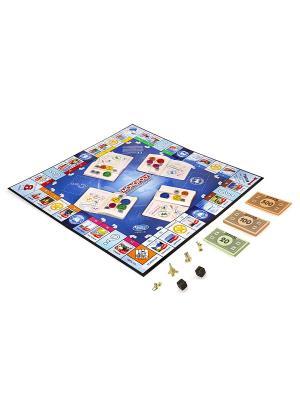 Всемирная монополия Hasbro. Цвет: черный, красный, золотистый, белый