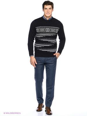 Джемпер Milana Style. Цвет: антрацитовый, черный
