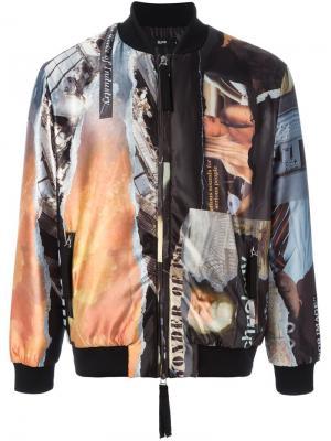 Куртка бомбер Corten Blood Brother. Цвет: чёрный
