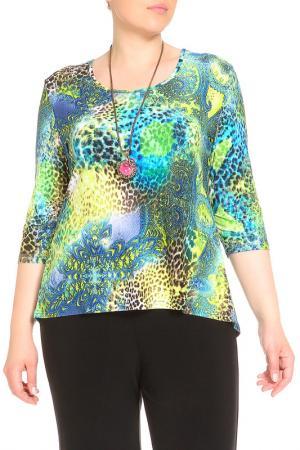 Блуза Кливиа LAVELLE. Цвет: синий