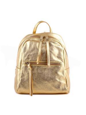 Рюкзак SARA BURGLAR. Цвет: золотистый