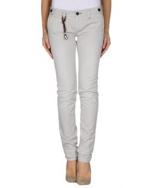 Джинсовые брюки JFOUR. Цвет: светло-серый