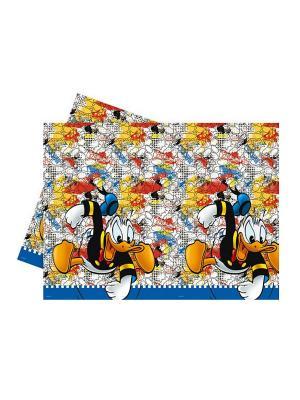 Скатерть  Дональд Дак - Утиные истории 120x180 см Procos. Цвет: желтый