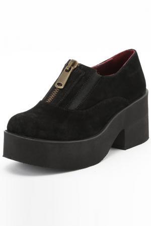 Туфли Almare. Цвет: черный