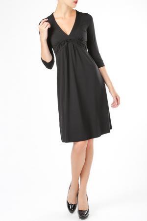 Платье ELLEN EISEMANN. Цвет: черный