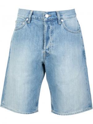Джинсовые шорты Norse Projects. Цвет: синий