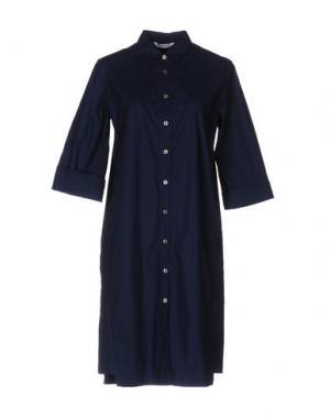 Короткое платье GUGLIELMINOTTI. Цвет: темно-синий