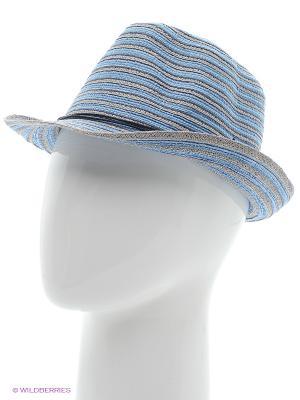 Шляпа Ваша Шляпка. Цвет: голубой, серый