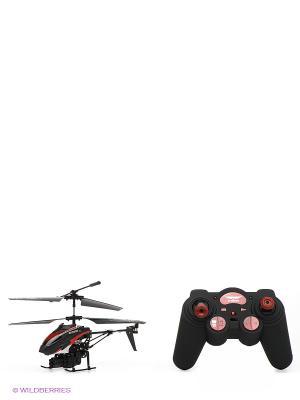 Игрушка Вертолет От винта. Цвет: черный, красный